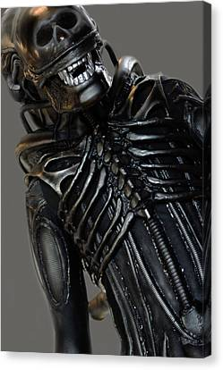 Alien In Public Canvas Print