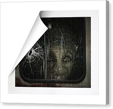 Alien Canvas Print by James Larkin