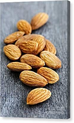 Almond Canvas Print - Almonds by Elena Elisseeva