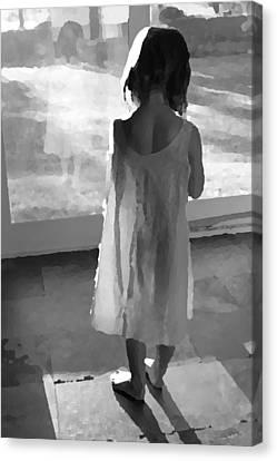 Alone Canvas Print by Brooke T Ryan