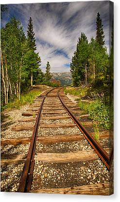 Along Boreas Pass Canvas Print by Christopher L Nelson