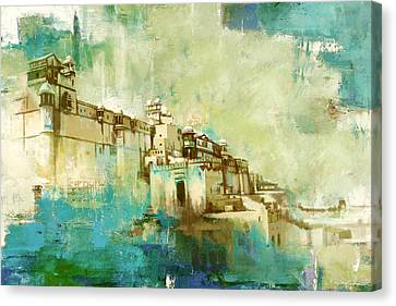Amber Fort Canvas Print by Catf