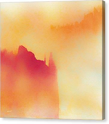 Amorphous 1 Canvas Print by The Art of Marsha Charlebois