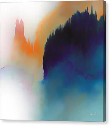 Amorphous 14 Canvas Print by The Art of Marsha Charlebois