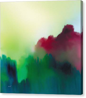 Amorphous 15 Canvas Print by The Art of Marsha Charlebois