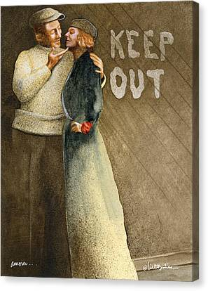 Amour... Canvas Print by Will Bullas