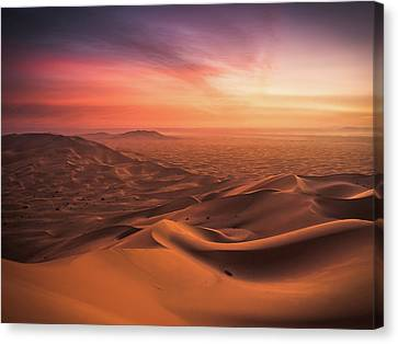 Morocco Canvas Print - An End And A Beginning by Andreas Wonisch
