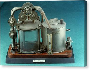 Reliefs Canvas Print - Anaesthetic Apparatus by Science Photo Library