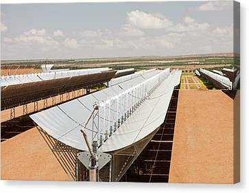Andasol Solar Power Station Canvas Print by Ashley Cooper
