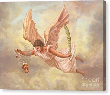 Angel Blessing Canvas Print by John Alan  Warford