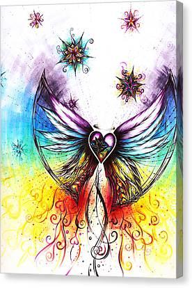 Angel II Canvas Print by Andrea Carroll