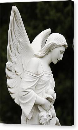 Angel Statue Canvas Print