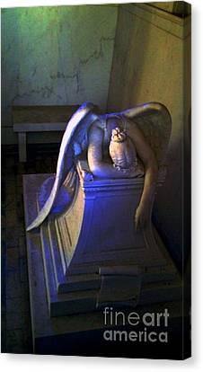 Angelic Sorrow Canvas Print by Michael Hoard