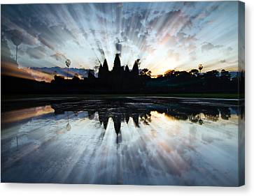 Angkor Wat Canvas Print by Brad Grove