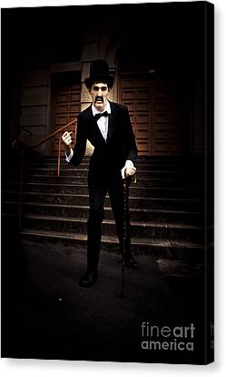 Angry Man Canvas Print by Jorgo Photography - Wall Art Gallery