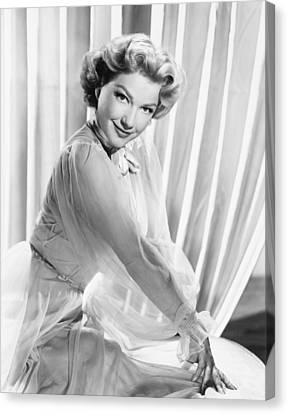 Anne Baxter, Ca. Early 1950s Canvas Print by Everett