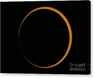 Annular Solar Eclipse, 2005 Canvas Print by Babak Tafreshi