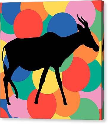 Antilope Canvas Print by Celestial Images