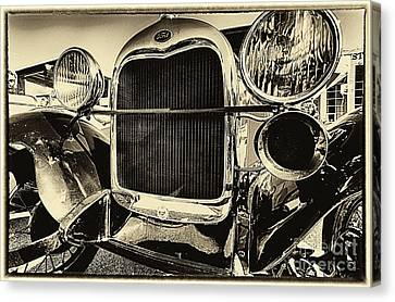 Antique Ford Car Canvas Print by Danny Hooks