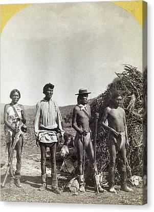 Apache Warriors, C1873 Canvas Print by Granger