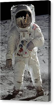 Andromeda Galaxy Canvas Print - Apollo 11 by Celestial Images
