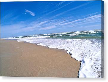 Apollo Beach Canvas Print by Millard H. Sharp