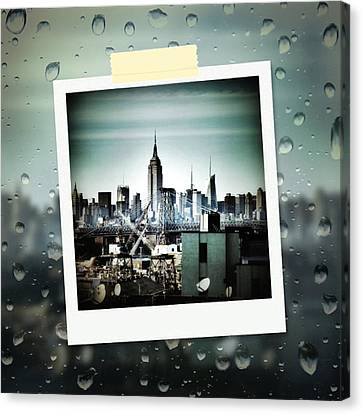 April In Nyc Canvas Print by Natasha Marco