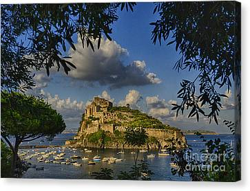 Aragonese Castle Canvas Print by Giovanni Chianese