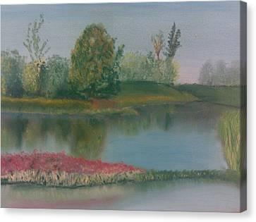 Arboretum Canvas Print by Steve Hermann