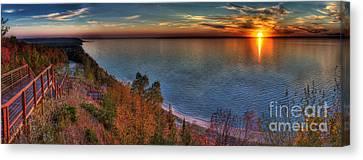 Arcadia Sunset Canvas Print