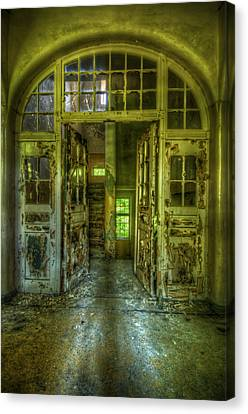 Arch Door Canvas Print by Nathan Wright