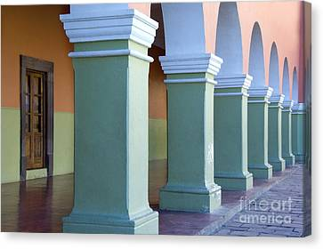 Dolores Canvas Print - Arched Walkway by John Shaw