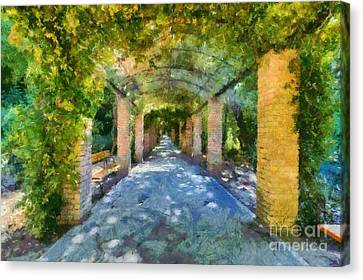 Archway IIi Canvas Print by George Atsametakis