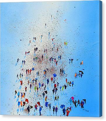 Arctic Stroll Canvas Print by Neil McBride