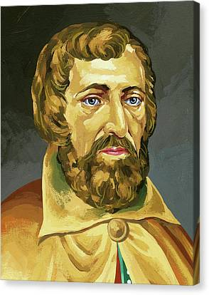 Arnaldus De Villa Nova (valencia, H Canvas Print by Prisma Archivo