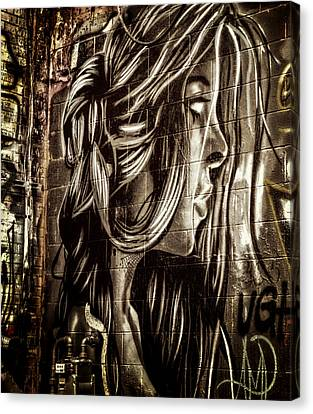 Art Alley 7 Canvas Print by Adam Vance