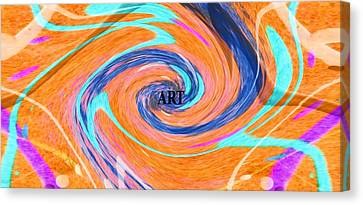 Spin Canvas Print - Art by Dan Sproul