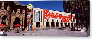 Art Museum In A City, San Jose Museum Canvas Print by Panoramic Images
