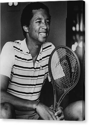 Ashe Canvas Print - Arthur Ashe by Retro Images Archive