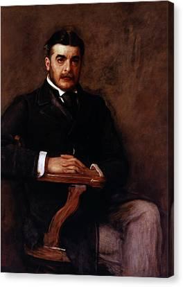 Arthur Seymour Sullivan (1842-1900) Canvas Print by Granger