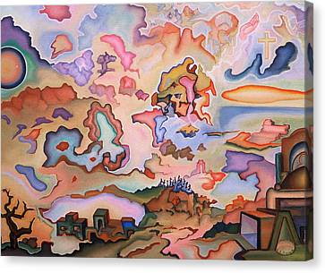 Ascension Canvas Print by Aswell Rowe
