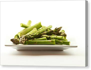 Canvas Print featuring the photograph Asparagus by Cecil Fuselier