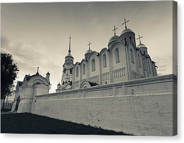 Russian Cross Canvas Print - Assumption Cathedral In Vladimir by Panoramic Images