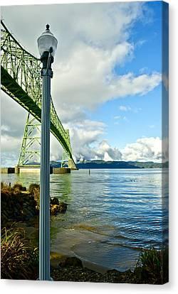 Astoria Bridge Canvas Print by Rae Berge