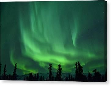 Aurora Borealis Canvas Print by Christian Heeb