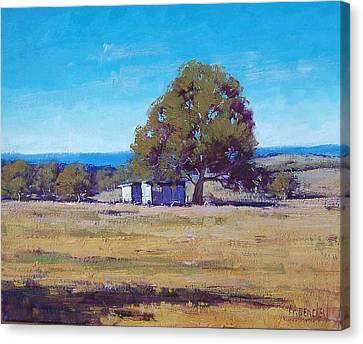 Australian Summer Landscape Canvas Print by Graham Gercken
