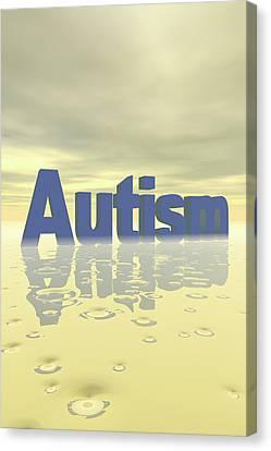 Autism Canvas Print