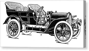 Automobile, 1907 Canvas Print by Granger