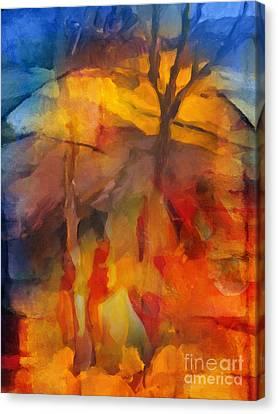 Autumn Colors Canvas Print by Lutz Baar