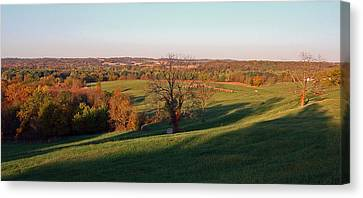 Autumn Countryside Canvas Print by Ellen Tully
